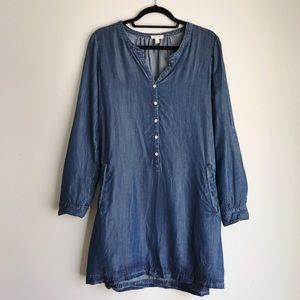 Soft Joie • Blue Denim Long Sleeve Dress